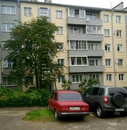Apartment, 2 rooms, 4.5 m²