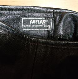 Γυναικείο δερμάτινο παντελόνι 44 μέγεθος