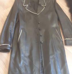 palton de piele 50-52