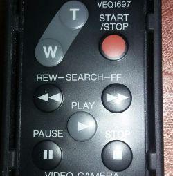 Remote for camcorder