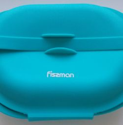 Container blue silicone Fissma closing