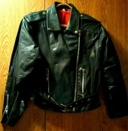 Косуха куртка унісекс чорна