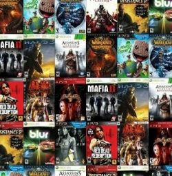 Games for PC, XBOX 360 ps3, ps2, ps1, pssp ps vita, xxxxx, wii, wiiu,