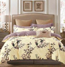 Deluxe satin bed linen - gift LBB123
