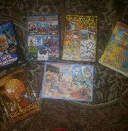 Cartoons with cartoons, each for 20rub.