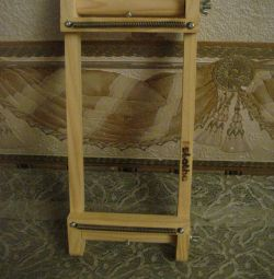 The new machine for beadwork-wooden.