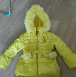 Down jacket height 122