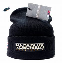 Hat Napapijri Geographic (black)