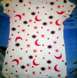 T-shirt - ένα χιτώνα για ένα κορίτσι