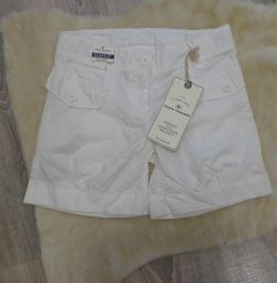 Tom Tailor. New white shorts