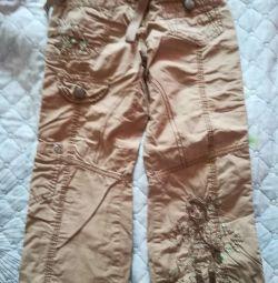 Pantaloni din bumbac