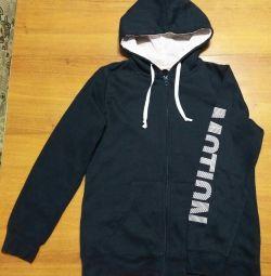 Youth sweatshirt with zipper