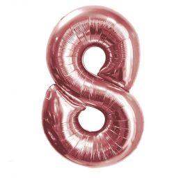 Foil balloon digit 8 NEW