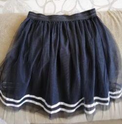 New skirt of tulle