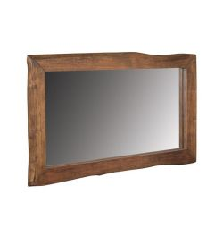 MIRROR HM8187 MADE OF AKAKI WOOD NATURAL 100