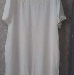 Платье лен 50-54