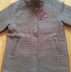 Нова жіноча стeганая куртка р. 50-52
