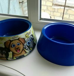 New bowls for dogs 1.2 liters