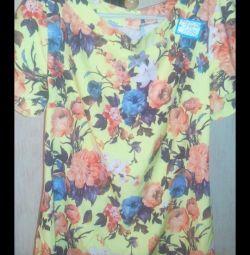 Μπλούζα p 50 (πιο κοντά στο 48) πολλά νέα ρούχα