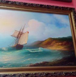 Picture Canvas Oil Baguette