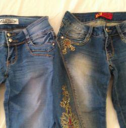 🔤 Jeans de 42 de ori.