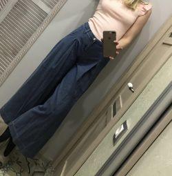 Yeni kot pantolonlar - culottes, Mango