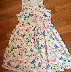 Летнее платье - сарафан 7-8 лет