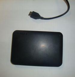 Εξωτερικός σκληρός δίσκος Toshiba 500 gb usb-3.0