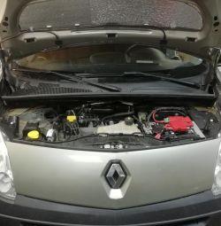 GBO installation on Renault Kangoo 4 gas generation