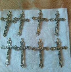 Medical silver crosses