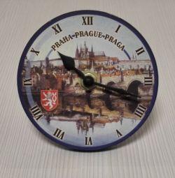 Πράγα Ρολόι Ξύλινο τοίχο Risch-Lau Τσεχική Δημοκρατία