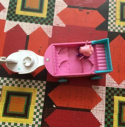 Peppa Pig with trolley