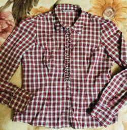 Рубашка. Блузка. 46-48