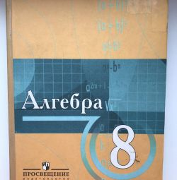 Textbook on algebra grade 8 N.YA. Vilenkin