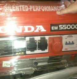Генератор бензиновый Honda EM 5500 cxs
