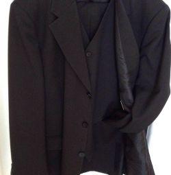 Siyah takım elbise - üçlü Gepard