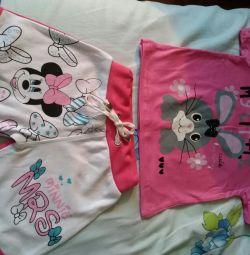Шортики и футболка