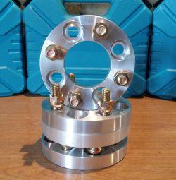 Проставки колесные ступичные диски 4х100 (20мм)