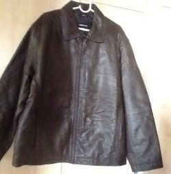 Man jacket. Leather new r. Chl / x g