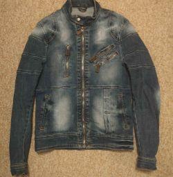 Men's denim jacket S