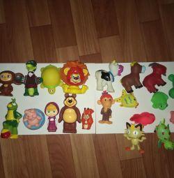 Jucării soyuzmultfilm din cauciuc