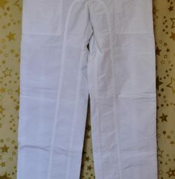 White new with tag pants M brand