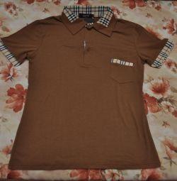 New men's polo shirt, M