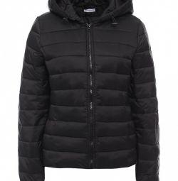 Стёганая черная куртка jacqueline de yong