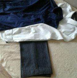 Uniform for a boy pants 90 cm