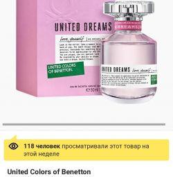 Toilet water from Benetton