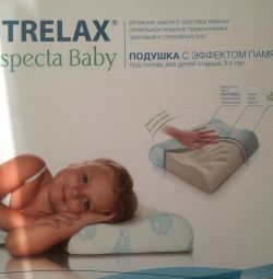 Children's orthopedic pillow