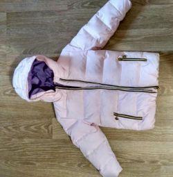 Down jacket 98 cm 2-3 years