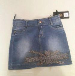 Спідниці джинсові нові