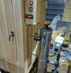 Unitate electrostatică pentru perdea universală pentru fum
